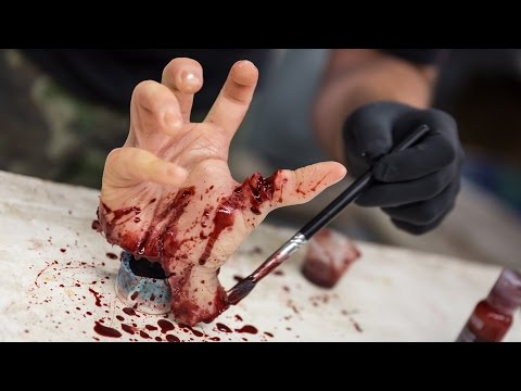 How To Make a Gory Hand Prop for Halloween!