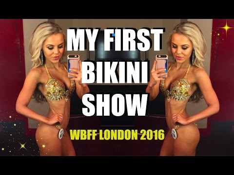 ITS SHOWTIME !!!!!! MY FIRST BIKINI COMPETITION WBFF