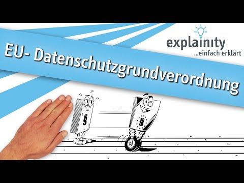 EU-Datenschutzgrundverordnung einfach erklärt