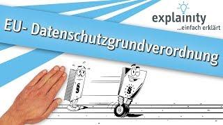 EU-Datenschutzgrundverordnung einfach erklärt (explainity® Erklärvideo)
