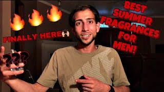 TOP TEN SUMMER COLOGNES/FRAGRANCES FOR MEN