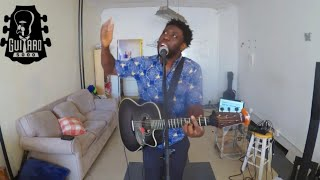 Post Malone - Better Now percussive guitar cover by Guitaro 5000