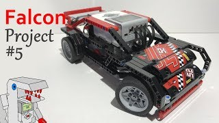Falcon - Project #5 from Building Smart LEGO MINDSTORMS EV3 Robots