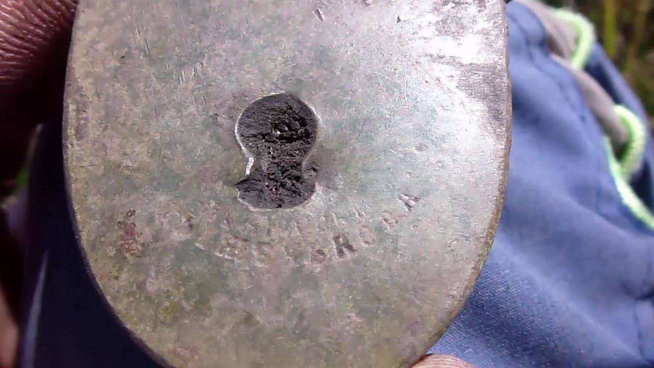 Нашли огромную монету у старого пЧельника! - youtube.