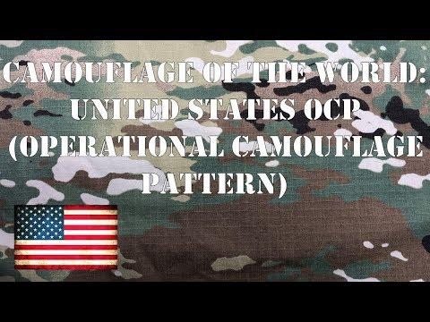 Camouflage Of The World: U.S. OCP (Operational Camouflage Pattern)
