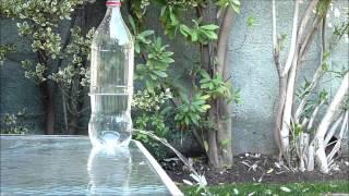 Experimento Torricelli botella 1 5L