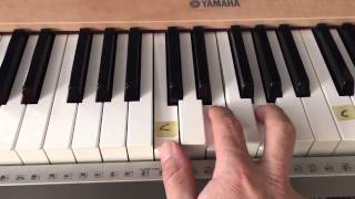 "3 Chord Easy Worship Piano Tutorial - ""Great Are You Lord"" - (Matt McCoy)"