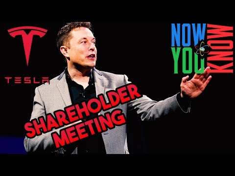 In Depth: Tesla Shareholder Meeting