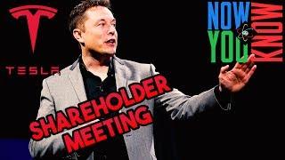 In Depth: Tesla Shareholder Meeting