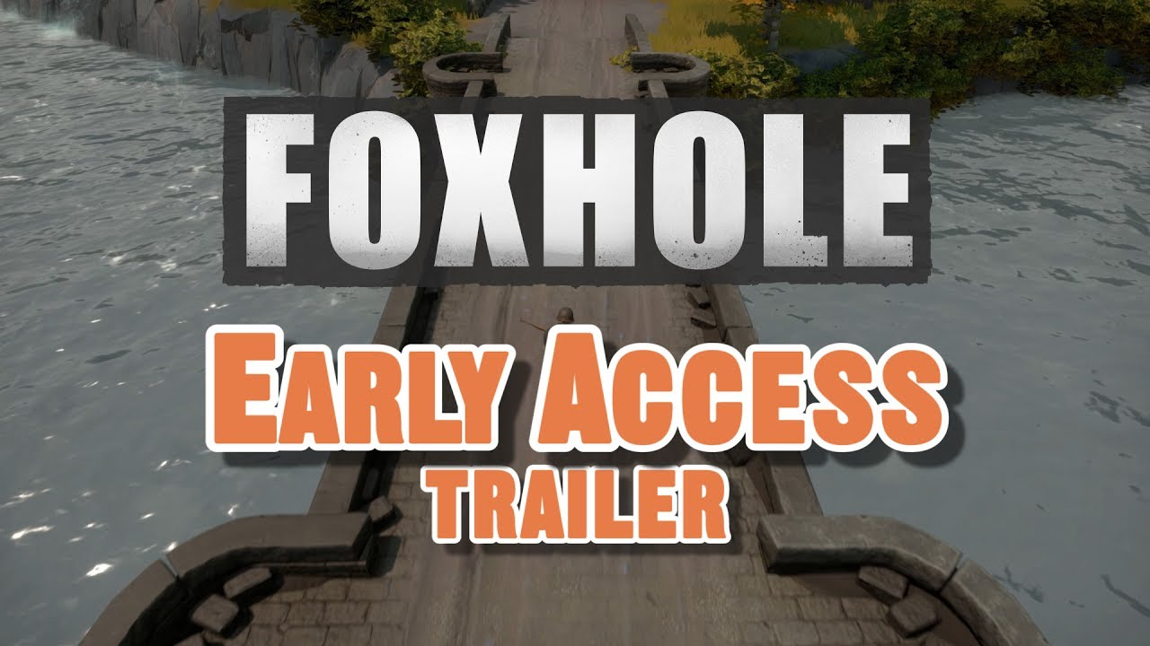 Image result for Foxhole is a persistent multiplayer game where wars can last for days