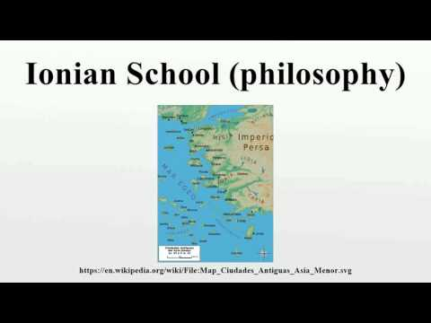 Ionian School (philosophy)