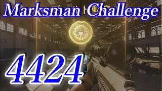 【CoD:MW】夏の熱戦トライアル Marksman Challenge【4424】