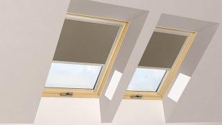 видео Вікна та двері — римські штори.