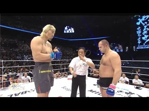 The South Korean monster Vs fedor emelianen KO! MMA