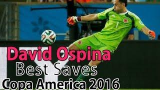 David Ospina - Best Saves Copa América 2016