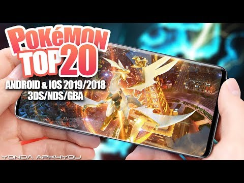 Top 20 Pokemon Games 3DS/NDS/GBA 2019 - Android IOS Gameplay