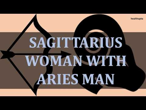 SAGITTARIUS WOMAN WITH ARIES MAN