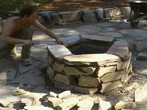 How To Build A Mortar Firepit (Part 9of9)