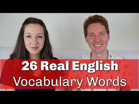 26 Advanced English Vocabulary A-Z