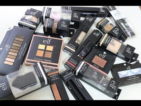 e.l.f. One Brand Makeup Tutorial エルフの化粧品だけ使ってフルメイク 化粧品それぞれの第一印象もレビュー! IAMHOPEP
