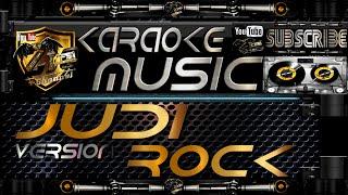 JUDI (Rock Version) Karaoke Lirik Tanpa Vokal