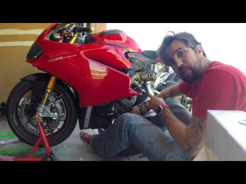 How to change your oil and oil filter on a Ducati Panigale 1299, 1199,959, 899