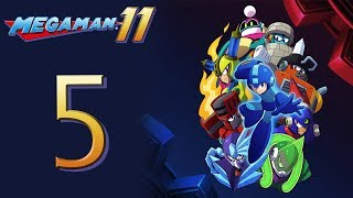Mega Man 11 Kicks DSP's BUTT! The Playthrough pt5 - Torch and Acid Man Stages are INSANE!