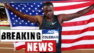 BREAKING NEWS: CHRISTRIAN COLEMAN ALLEGEDLEY SUSPENDED FOR DOPING | RUNNING REPORT