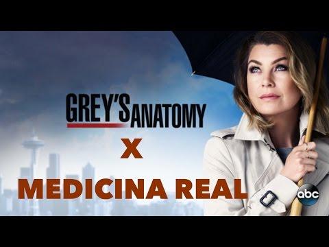 Grey's Anatomy VS Medicina da Vida Real