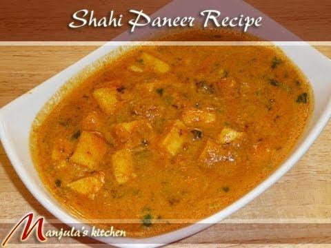 Shahi Paneer, Indian Vegetarian Cuisine by Manjula