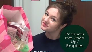 Empties/Products I've Used Up #3 Thumbnail