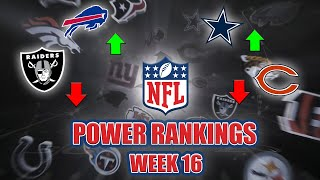 NFL Week 16 Power Rankings | NFC Showdowns Loom, Are The Bills For Real?