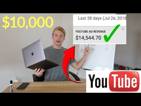 How To Make $10,000 PER MONTH On YouTube As A Beginner (ANY Channel)