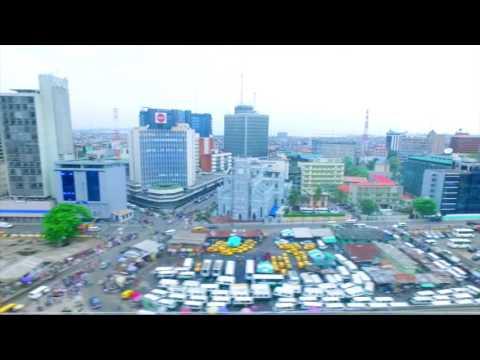 Aerial view of Marina LAGOS