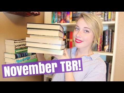 My Ambitious November TBR!