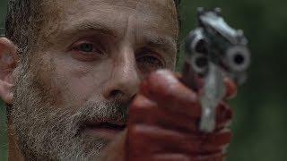 Рик жертвует собой. Последний эпизод Рика Граймса. Ходячие мертвецы 9 сезон 5 серия