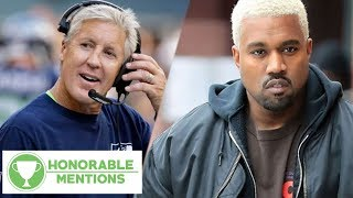 Pete Carroll ROASTS Kanye West And His YEEZY's! | Honorable Mentions