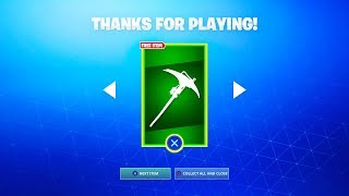 The NEW FREE PICKAXE in Fortnite! (FREE GIFT)