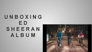 Unboxing Ed Sheeran#39s No. 6 Collaboration#39s Project