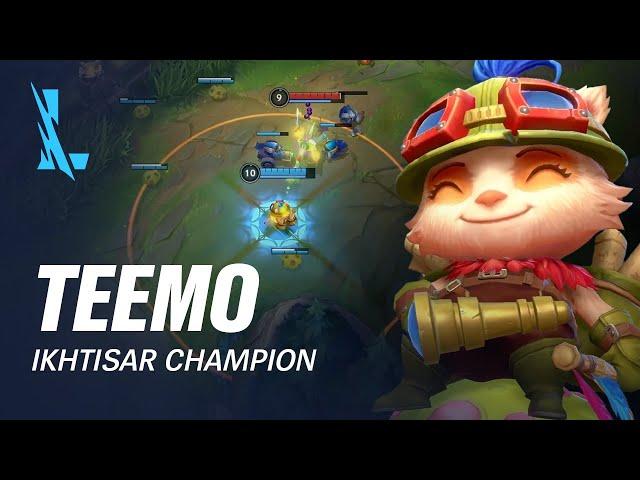 Ikhtisar Champion Teemo | Pola Permainan - League of Legends: Wild Rift