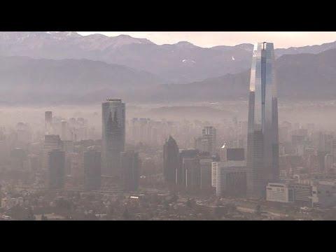 Santiago vive 'emergência ambiental'
