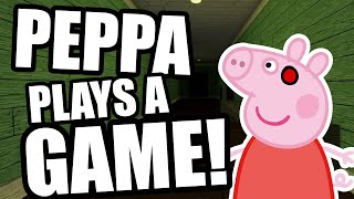Peppa Plays a Game!