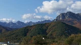 설악일성콘도 바라본 풍광 울산바위