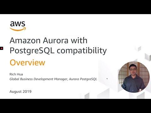 Aurora PostgreSQL University: Intro to Amazon Aurora with PostgreSQL Compatibility