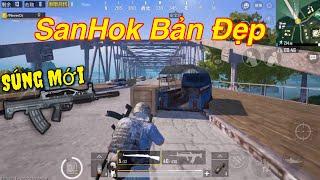 PUBG Mobile   SOLO Squad - Map SanHok    Màn Bắn Kar98 4X Scope Làm Team Địch Khiếp Sợ ...