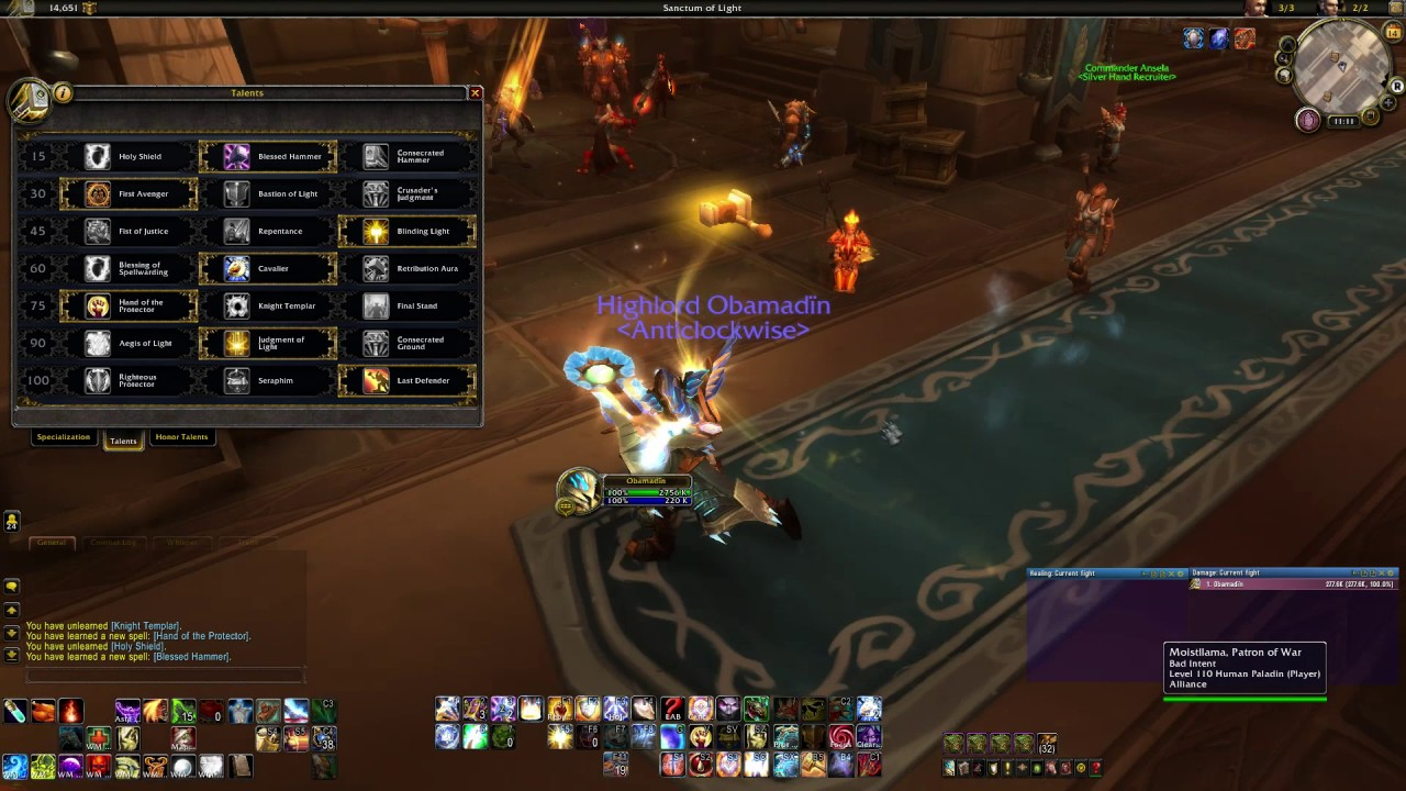 Protection Paladin PvE Tank Guide 7.1/7.1.5 (7.3 update available) - YouTube