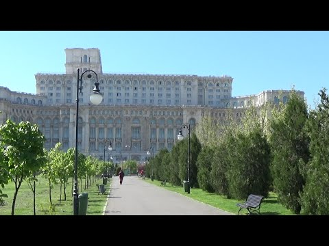 Ceausescu's palace. A
