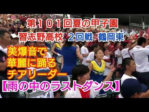 【第101回夏の甲子園】習志野高校 2回戦 美爆音‼チアリーダーメイン(Cheerleader)(Japan)の動画です。
