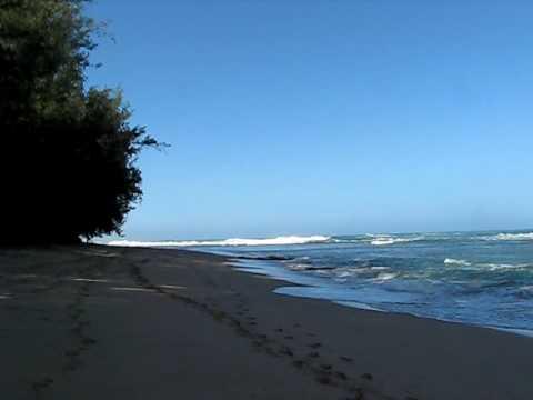 Morning on Ke'e Beach