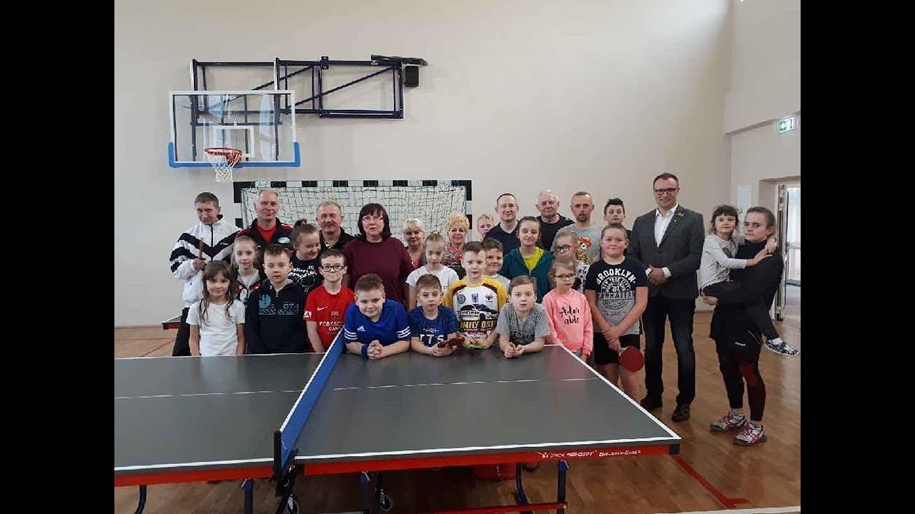 Podziękowanie Turniej Tenisa Stołowego Z Okazji Założenia Ulks Viktoria Jedlińsk